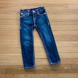 True Religion Toddler Size 4 jeans